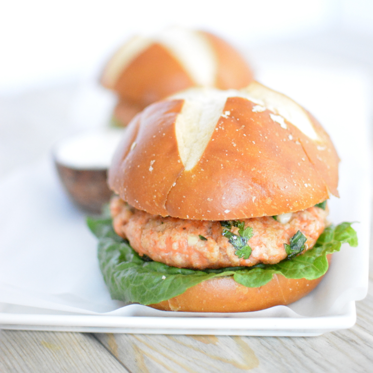 Salmon Burgers With Cilantro Mayocooking And Beer